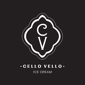 Cello Vello Logo Black and White