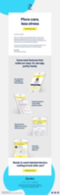 Marketing Email Design Faris Habayeb