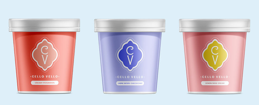 Cello Vello Ice Cream Lineup