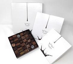 Coffrets de chocolats Marc Pignot