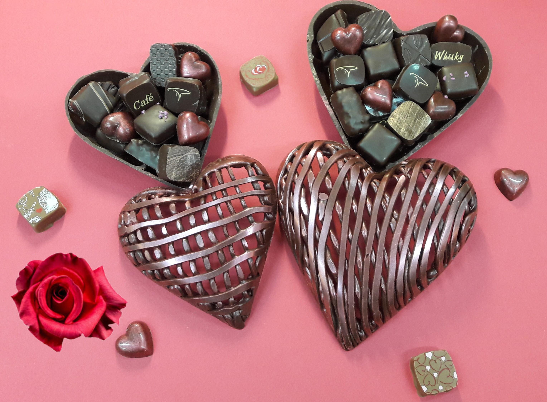 Bonbonnière Dentelle tout chocolat