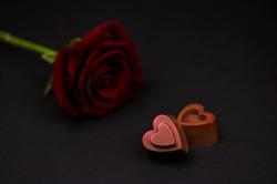 Coeurs DUO pralinés