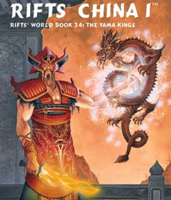 Scholar's Review #29: RIFTS World Book 24: China 1 – The Yama Kings