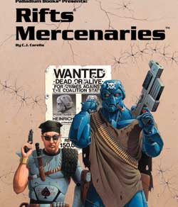 Scholar's Review #1 - RIFTS Mercenaries