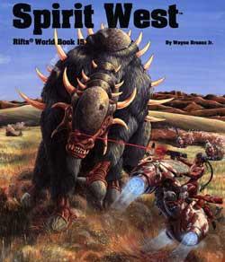 Scholar's Review 20: Rifts World Book 15: Spirit West