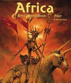 Scholar's Review #8: RIFTS World Book 4: Africa