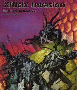 Scholar's Review #28: Rifts World Book 23: Xiticix Invasion