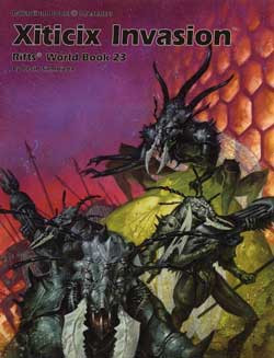 Scholar's Review #28: Rifts World Book 23: Xiticix Invasion