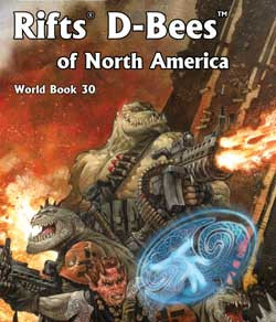 Scholar's Review 33: RIFTS World Book 30 – D-Bees of North America