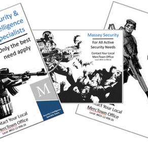 Mercenary's Hangout #2 - Massey Security & Intelligence