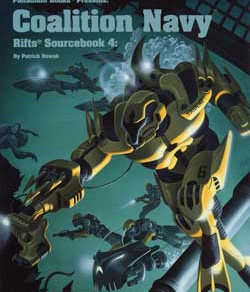 Scholar's Review #24: Rifts Sourcebook 4: Coalition Navy