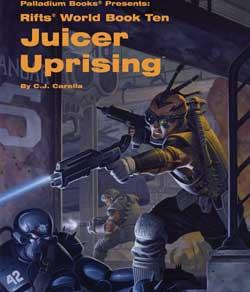 Scholar's Review 15: Rifts World Book 10: Juicer Uprising