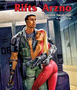 Scholar's Review #31: RIFTS World Book 28 – Arzno – Vampire Incursion