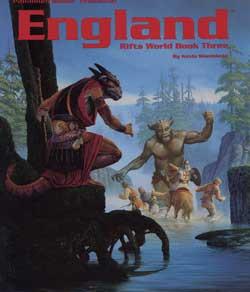 Scholar's Review #7: RIFTS World Book 3: England