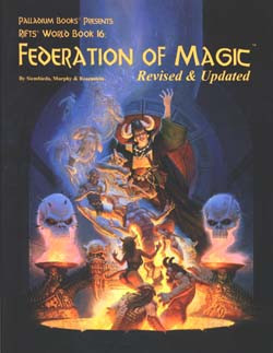 Scholar's Review #21: Rifts World Book 16: Federation of Magic