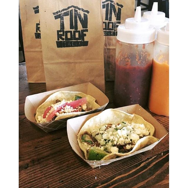 Not sure what to bring to the #superbowl party_ Why not #TinRoofTacos!