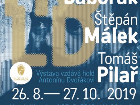 Pozvánka na vernisáž výstavy HOLD Antonínu Dvořákovi