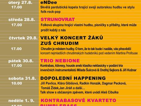 Novinka Festivalu Zlatá Pecka – Festivalové pódium!