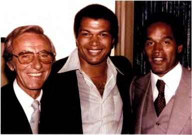 Photo - AB Whitfield, OJ Simpson and Chr