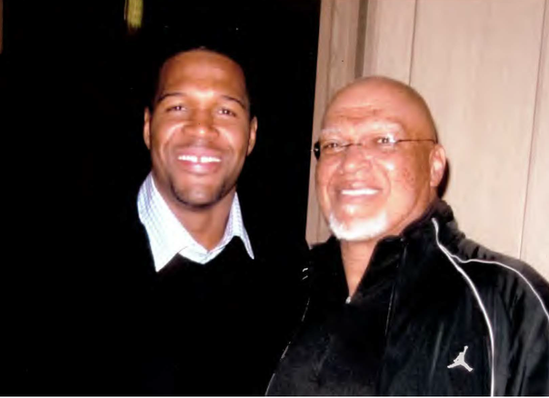 Photo - AB Whitfield and Michael Strahan