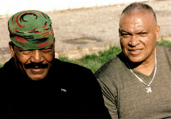 Photo - AB Whitfield and Jim Brown - cas