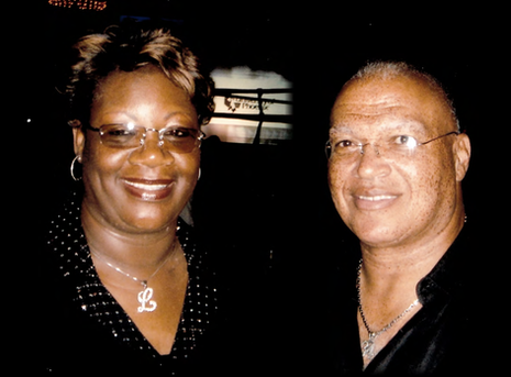 Photo - AB Whitfield and Lucille O'Neal.