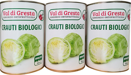 Crauti 5kg Consorzio Ortofrutticolo Val di Gresta