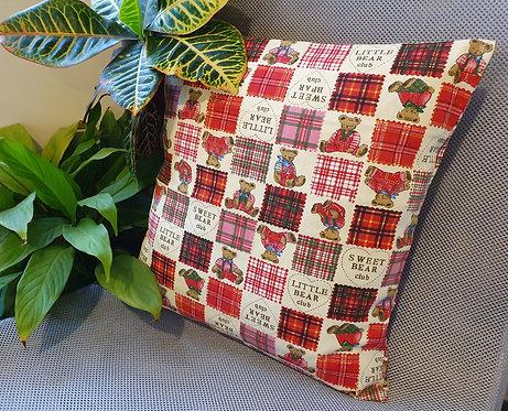 Arapawa Wool Cushion Inner with Teddy Cover