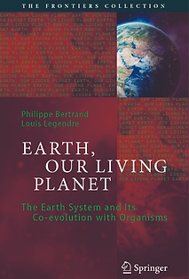 """Cover of book """"Earth, Our Living Planet"""", 2021, Springer."""