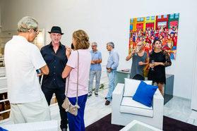 Dalmau Exhibition at Marbella