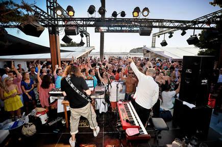 P Brothers at Blue Marlin Ibiza