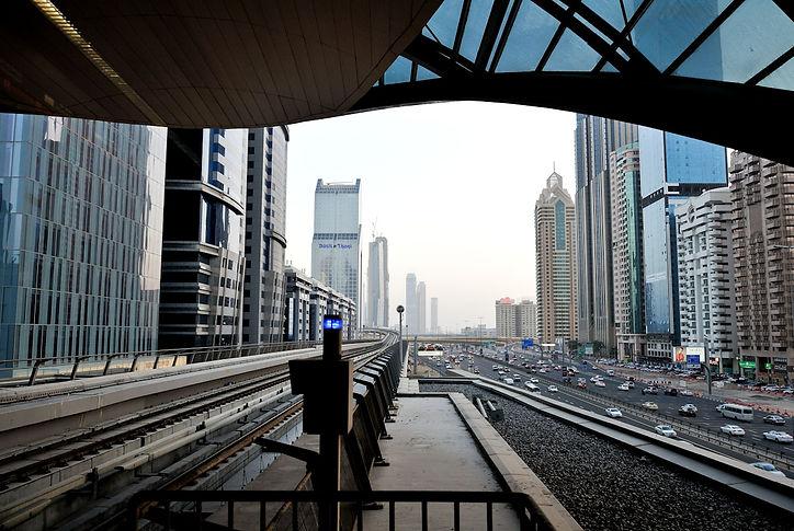 Dubai Metro©David Arnoldi