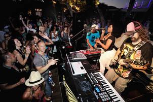 P Brothers at Blue Marlin Ibiza with Barbara Tucker