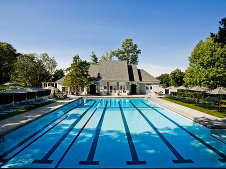 Country Club Poolhouse