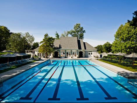 Country Club Poolhouse