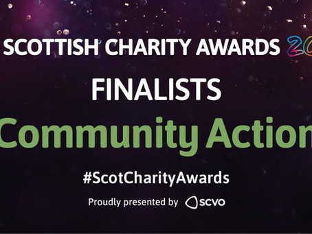We are a finalist in The National Charity awards!