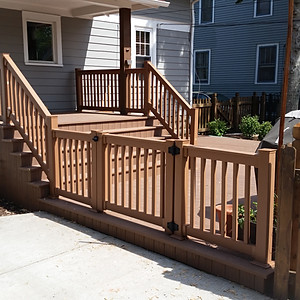 M DECK AND GATE