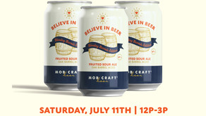 MobCraft Beer to host release party for 1st Edition of Believe in Beer to Benefit Relief Fund