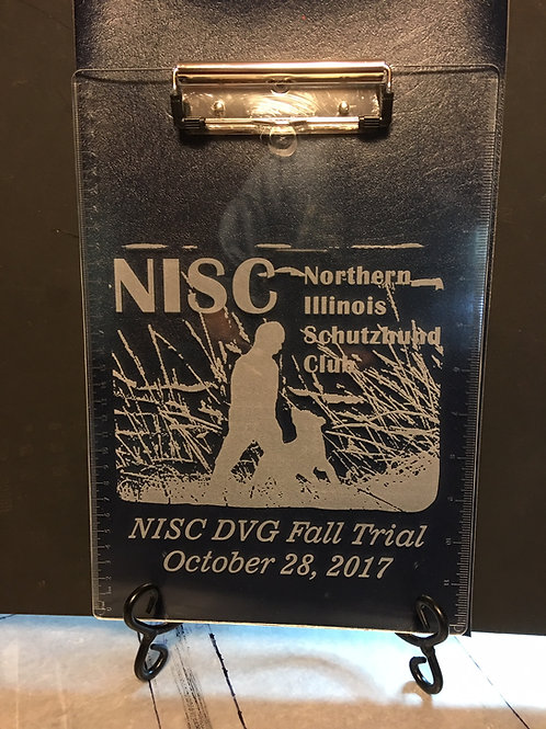 Clear Lucite Clipboard with your Logo!