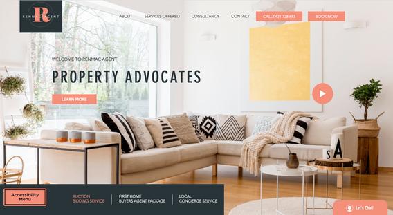 RENMAC Agent - Website Redesign