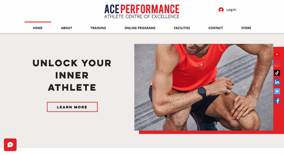 Ace Performance - Website Redesign