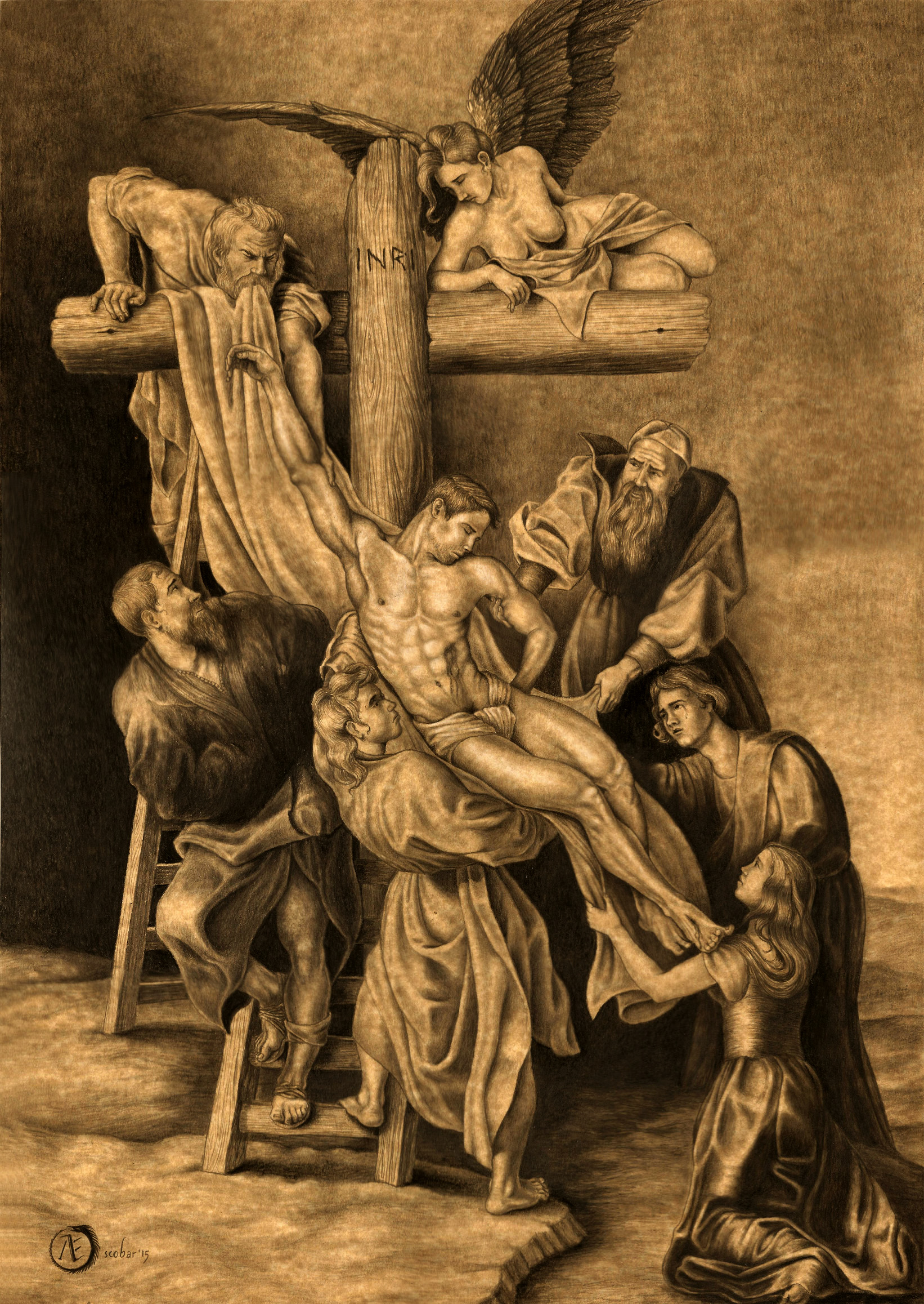The descending of the Cross