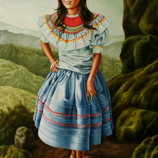 Chorti Girl Smiling