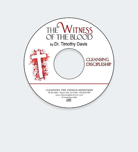 The Witness of the Blood Audio