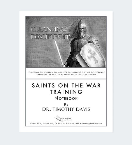 Saints On The War Training Notebook pdf
