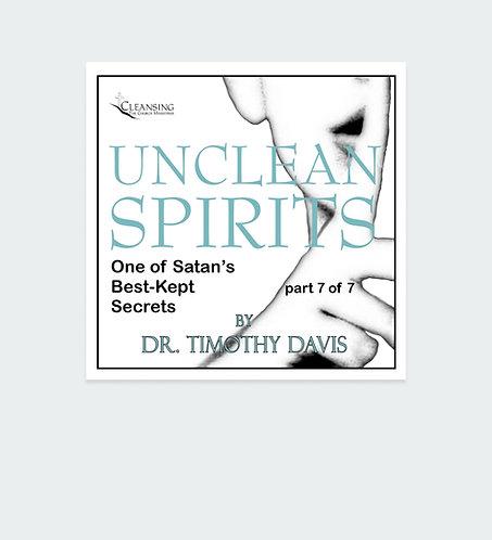 Unclean Spirits Series Part 7 mp3