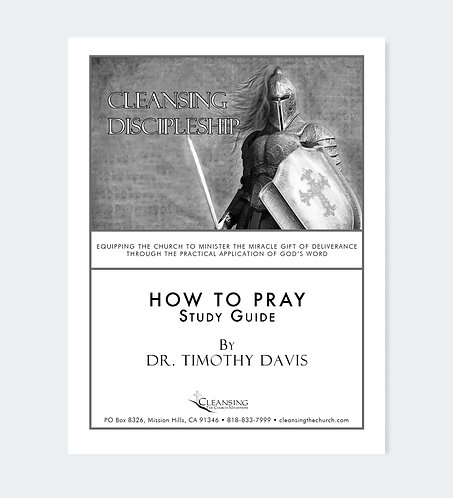 How To Pray Study Guide pdf