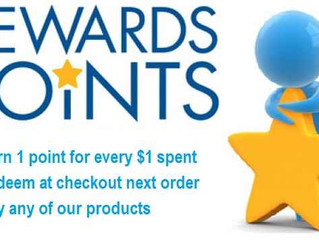 Have You Checked Your Reward Points Lately ?