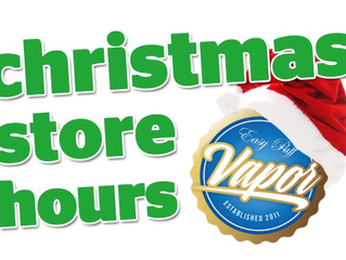 Easy Puff Holiday Trading Hours