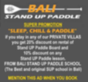 Bali Stand Up Paddle Board